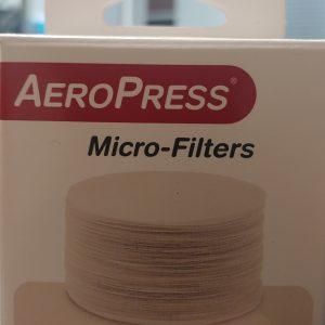 Genuine aeropress paper filters